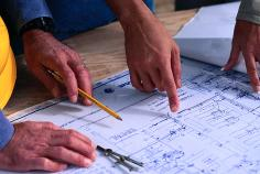 Making sure plans are building code compliant