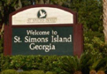 Welcome to St. Simons Sign
